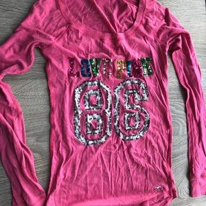 LOVE PINK long sleeve t shirt